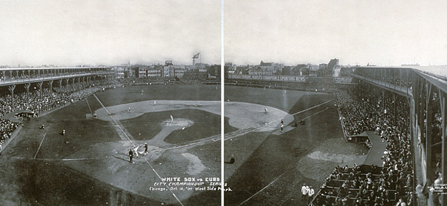 Cubs vs White Sox 1909