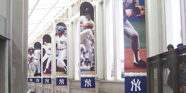 Concourse at Yankees Stadium